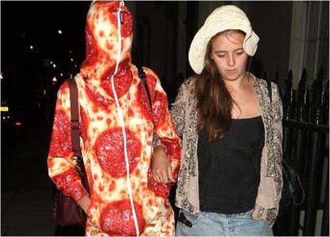 Atrévete y vístete de pizza