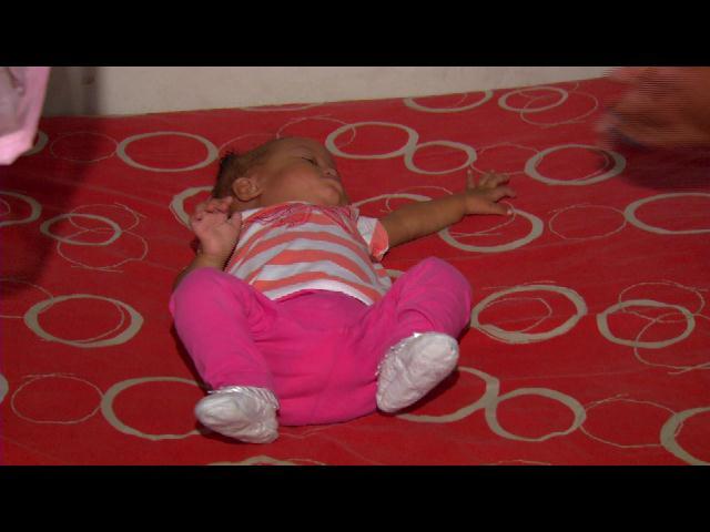 Familia pide ayuda para operar bebe de 9 meses que tiene problemas de corazón