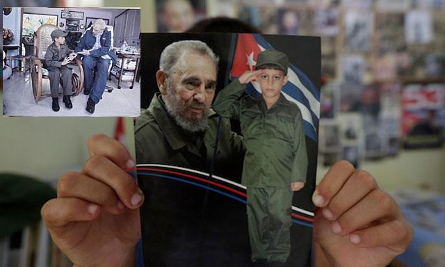 Niño de 8 años cumple su deseo de conocer personalmente a Fidel Castro