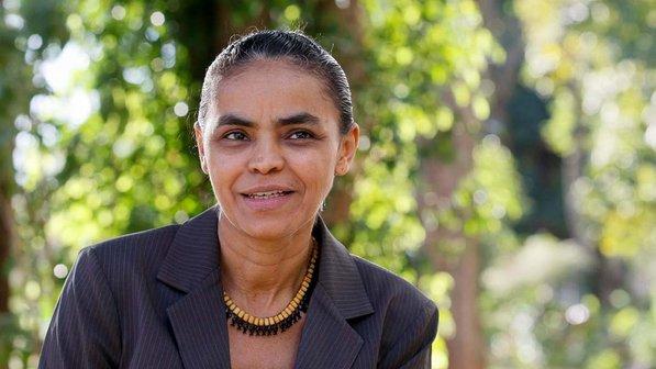 Ecologista homenajea candidato muerto en primer acto de campaña en Brasil