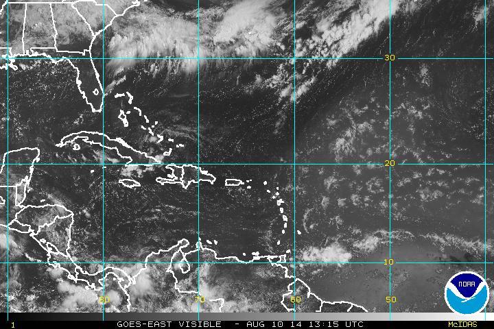 Onda tropical se aleja de RD, pero el martes viene otra
