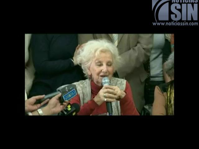 Gobierno argentino celebra final feliz de la lucha de Estela de Carlotto