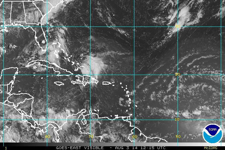 Tormenta tropical Bertha se aleja del país