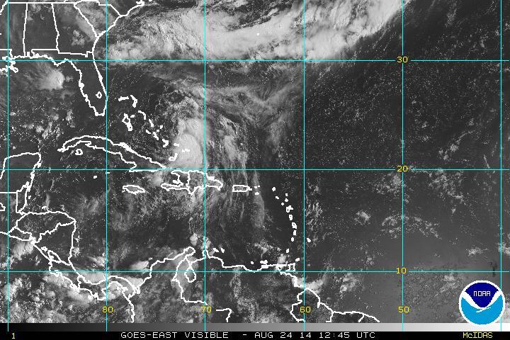 Se forma la tormenta tropical Cristóbal; aguaceros seguirán en gran parte del país