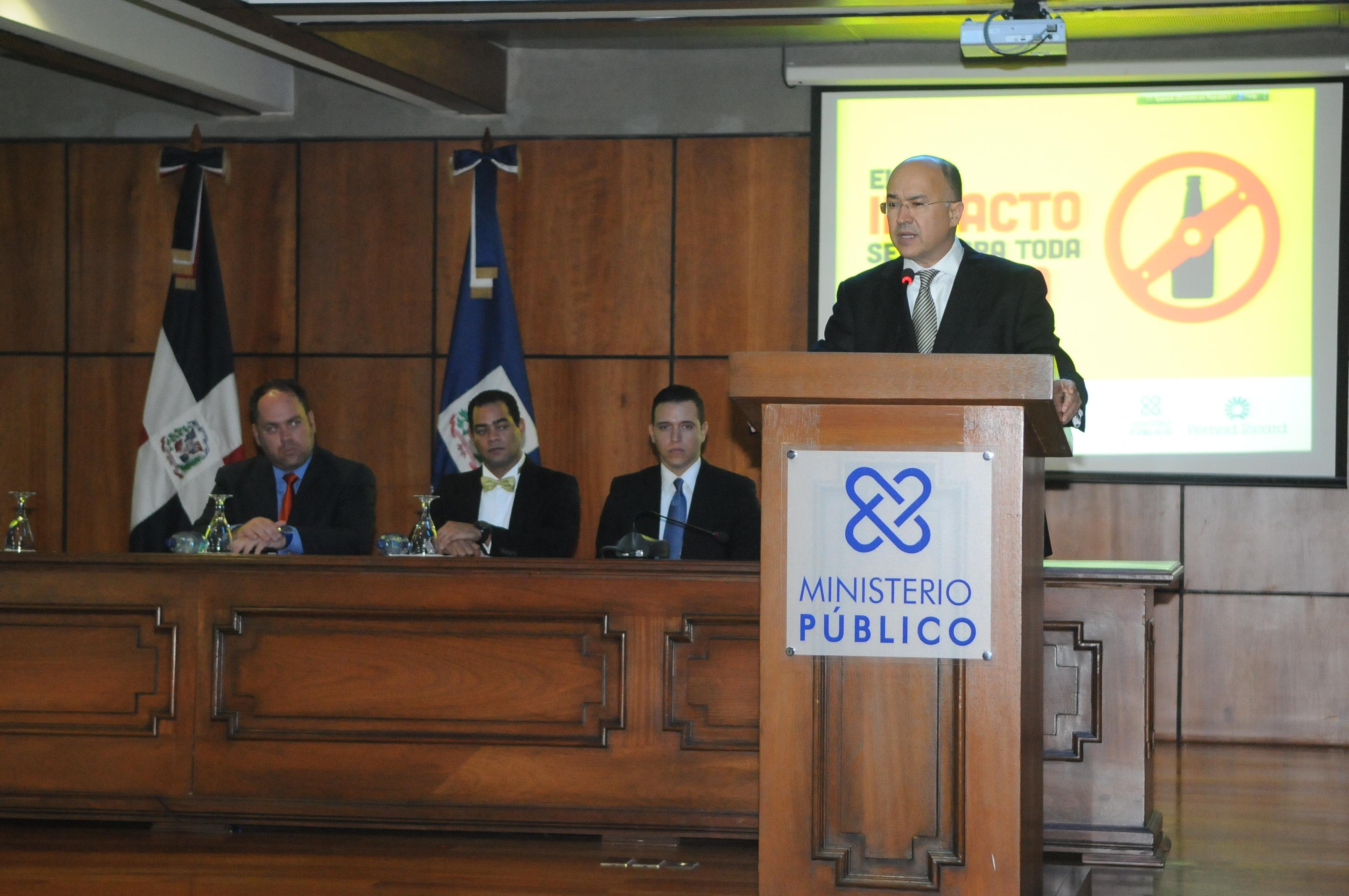 """Ministerio Público lanza campaña """"Prevención de Accidentes 2014"""""""