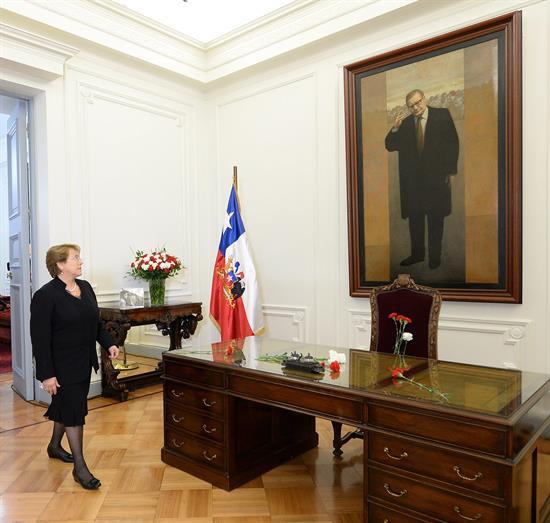 Fotos: Chile rinde homenaje a Salvador Allende a 41 años del golpe militar