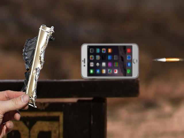 ¿Puede un iPhone sobrevivir el impacto de una bala del calibre 50? Vea el video
