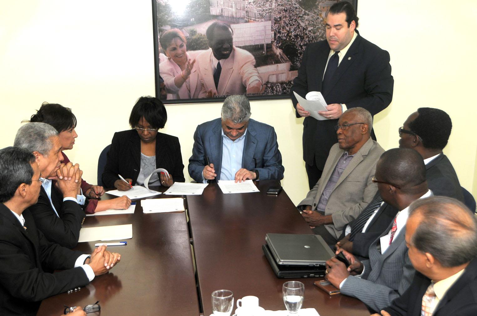 Social demócratas de RD y Haití acuerdan impulsar cooperación