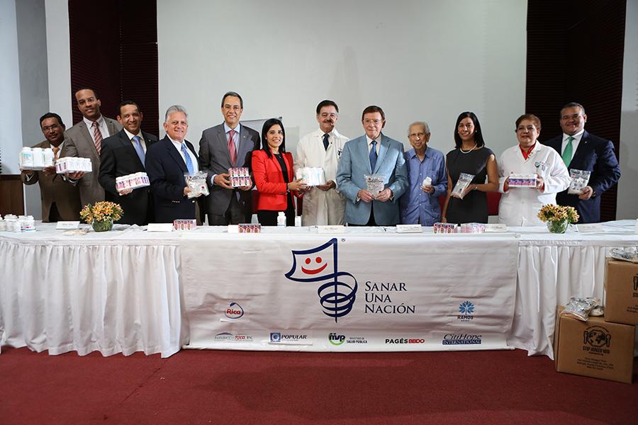 Banco Popular aporta para mejorar la salud de los dominicanos