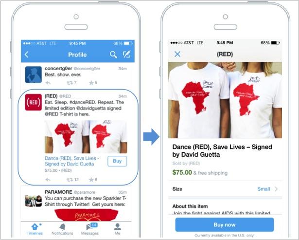 Twitter prueba sistema para facilitar compras a través de la red social