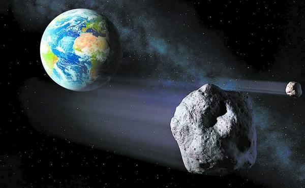Hoy un asteroide de veinte metros rozará la Tierra