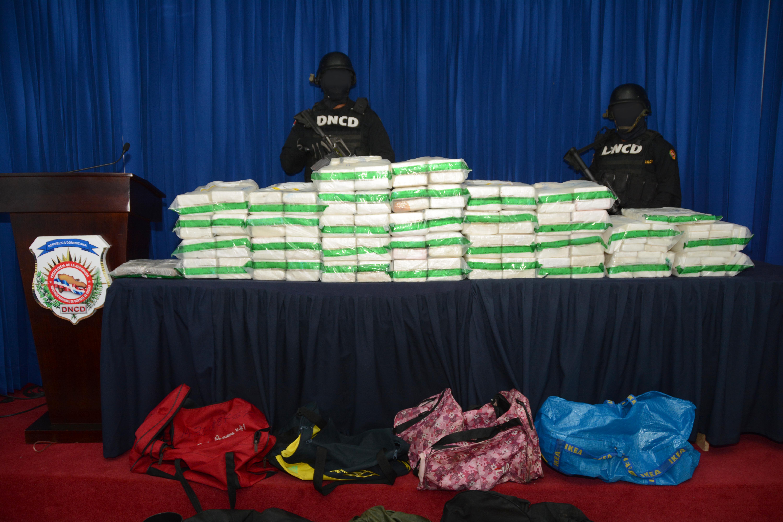 Decomisan 179 paquetes de cocaína dentro de contenedor procedente de Brasil