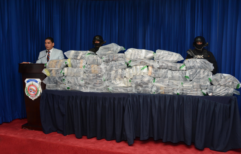 DNCD decomisa 219 paquetes de drogas procedente de Surámerica