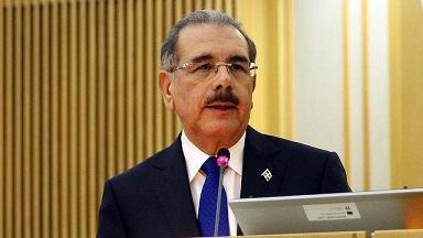 Danilo Medina quiere