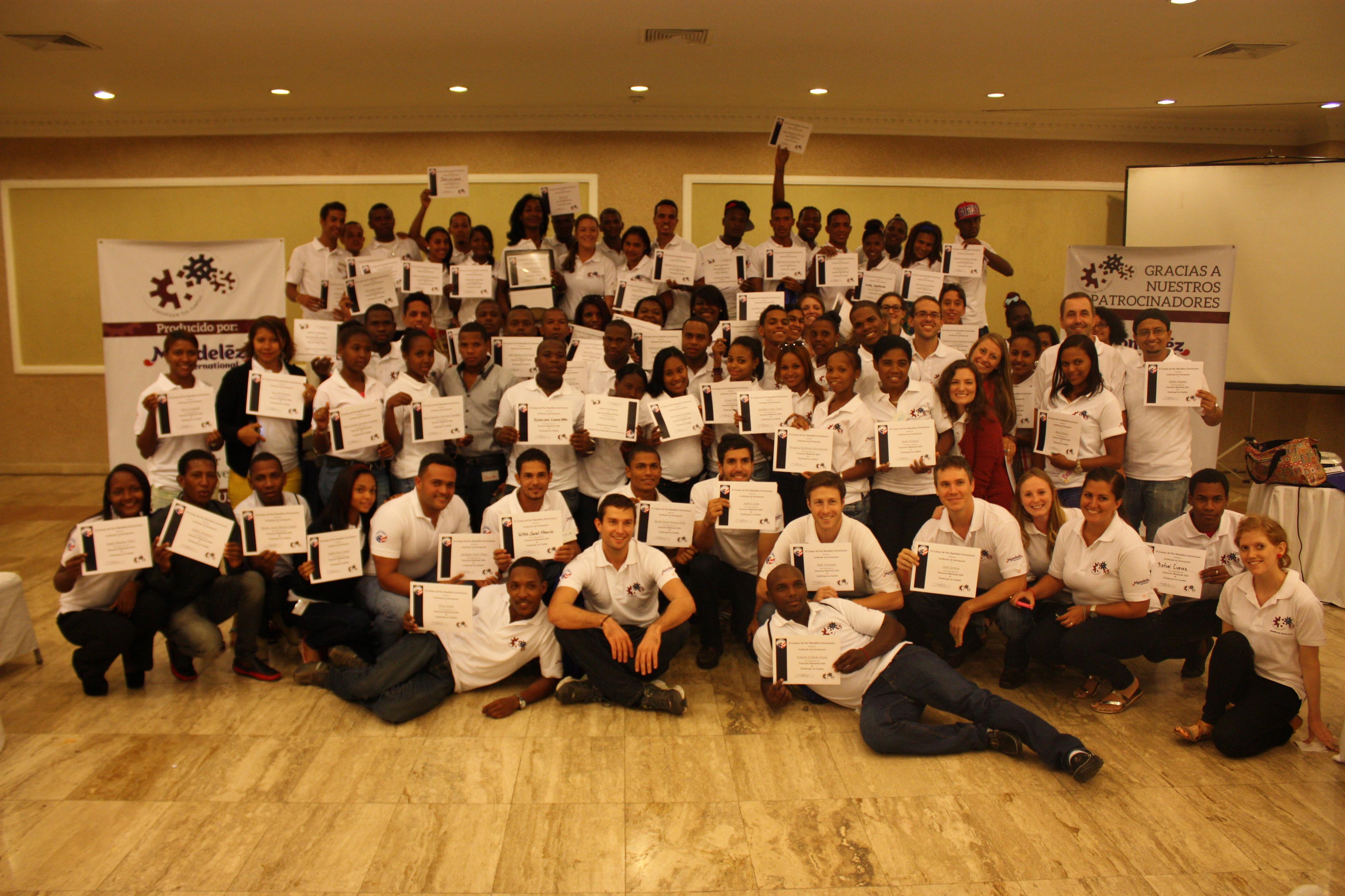Cuerpo de paz celebró su gran competencia