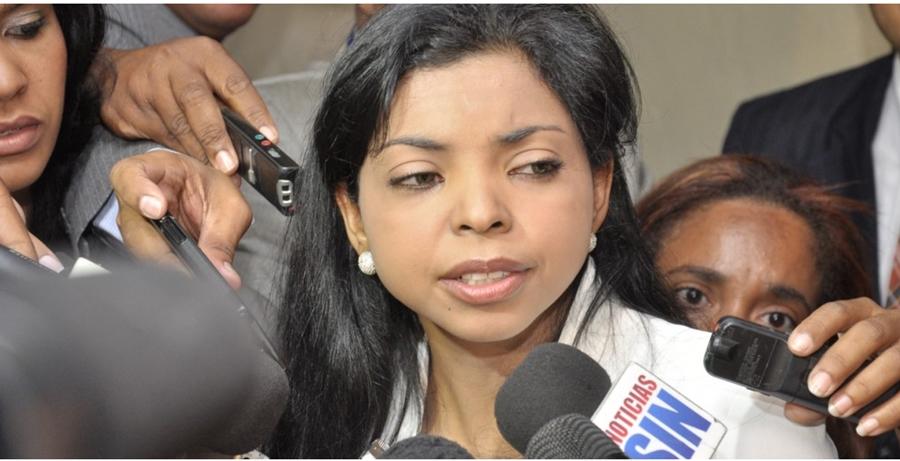 Yeni Berenice solicita investigar fiscal por supuesta corrupción