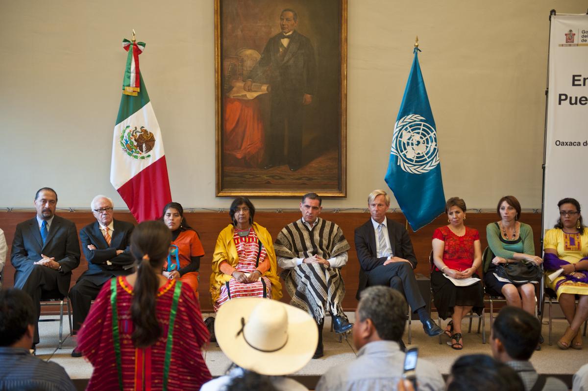 Indígenas exigen compromisos claros en la Conferencia Mundial