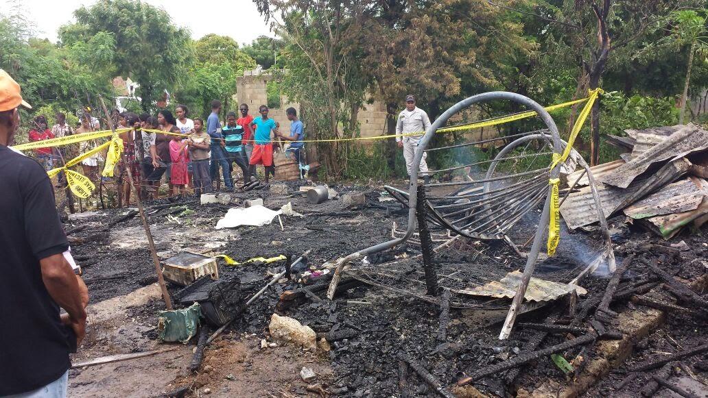 Niño de un año muere calcinado en su vivienda en La Romana