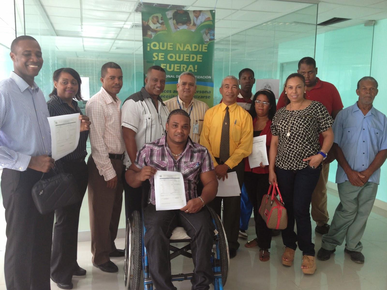 Fundación Leonardo Díaz gradúa a personas con discapacidad