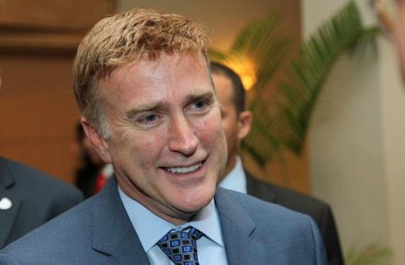 Embajador de EE.UU visita director AMET para tratar seguridad vial