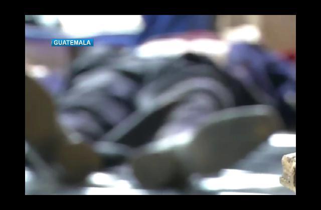 Al menos ocho muertos durante disturbios en Guatemala