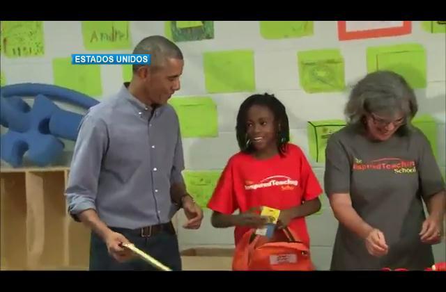Niña prefiere a una artista que al presidente Obama