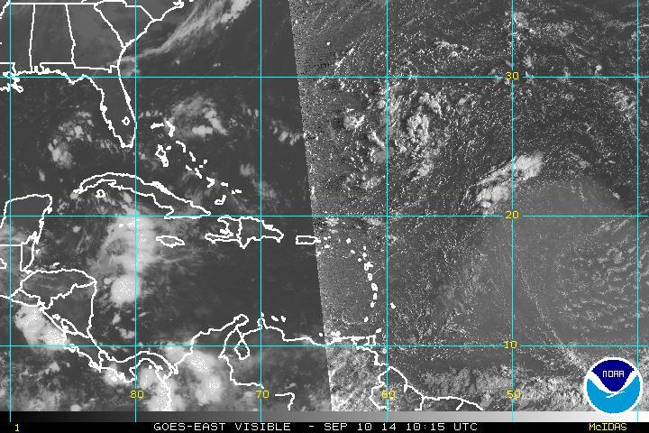 Vaguada en altura y viento del este/sureste provocarán lluvias en RD