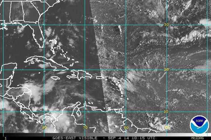 Meteorología pronostica pocas lluvias para hoy; Onda tropical se acerca al país