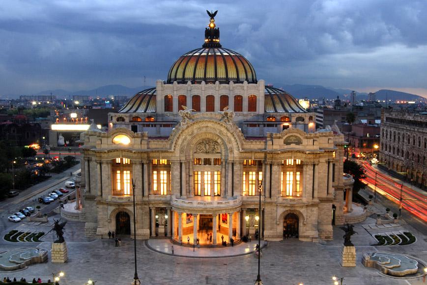 Bellas Artes, 80 años juntando toneladas de arte, espectáculos e historia