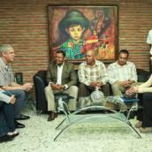 Director de Amet se reúne con presidente de Unatrafin