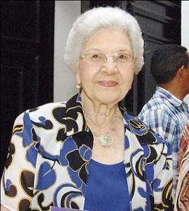 Gran pesar por muerte de exprimera dama Klang viuda Guzmán