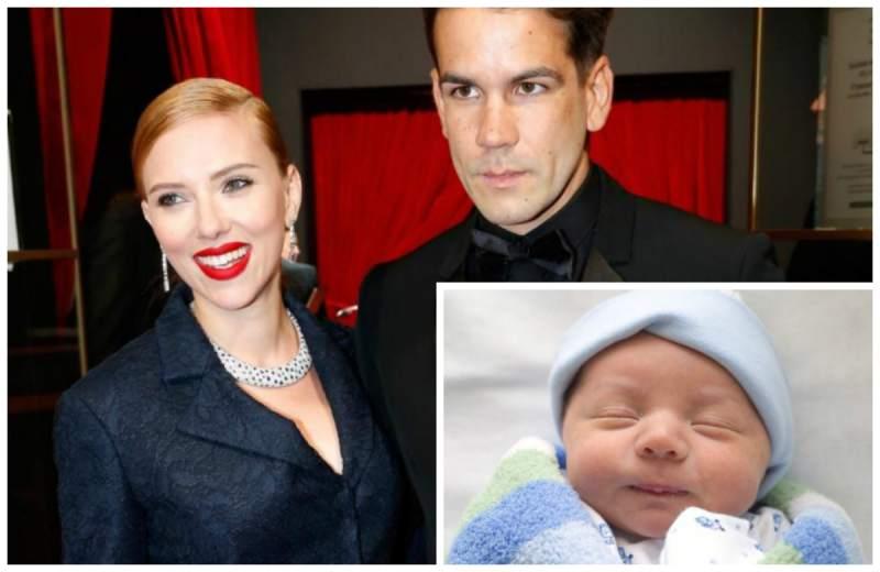 Scarlett Johansson muestra foto de su primera hija