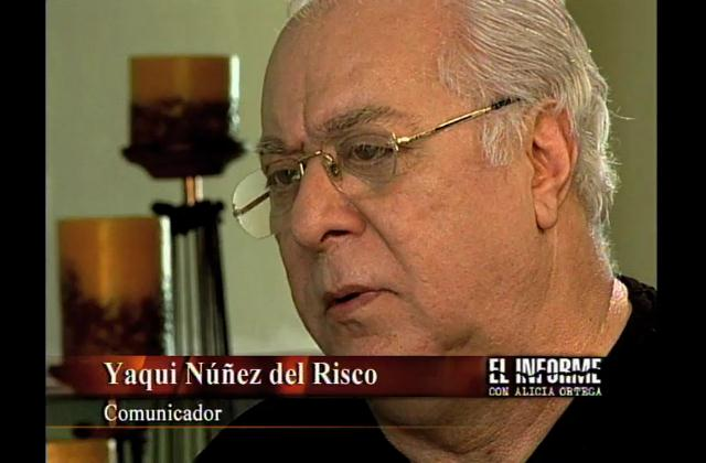 El Informe rinde homenaje a Yaqui Núñez del Risco