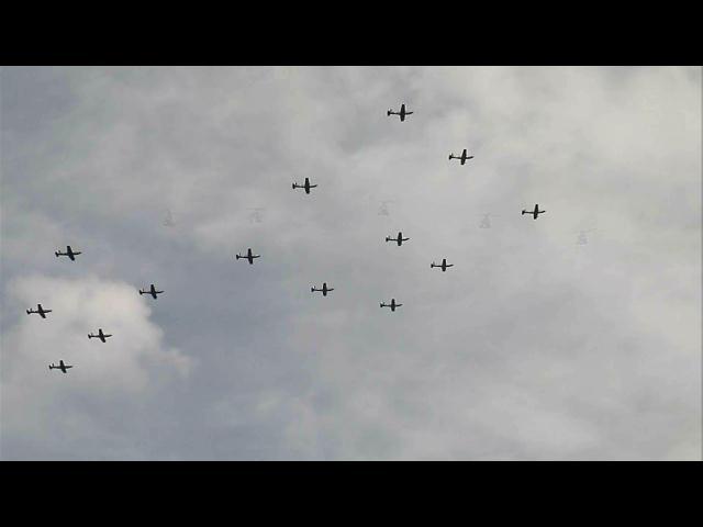 Cálculo, control y conocimiento exhiben 260 pilotos durante desfile