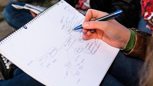 Mapas mentales: mejor forma de tomar apuntes en la universidad