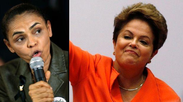 Nueva encuesta mantiene empate entre Rousseff y Silva en elecciones