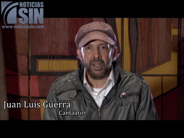 Dedicatoria especial de Juan Luis Guerra al grupo SIN