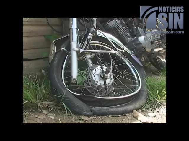 Mueren tres jóvenes en choque de dos motocicletas