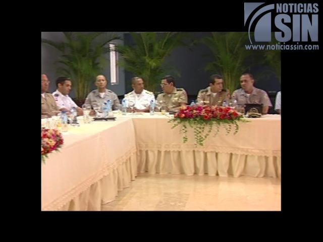 Organismos de seguridad del Estado se reunieron hoy