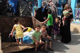 Vuelta al colegio en Gaza entre toneladas de escombros