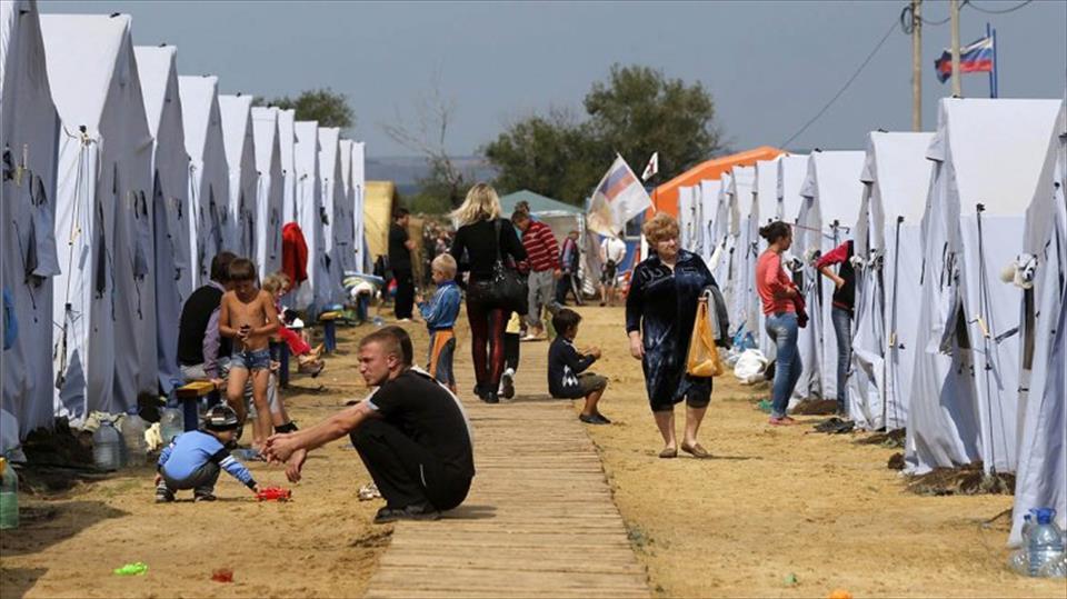La cifra de desplazados en Ucrania asciende a 260 mil , según el ACNUR