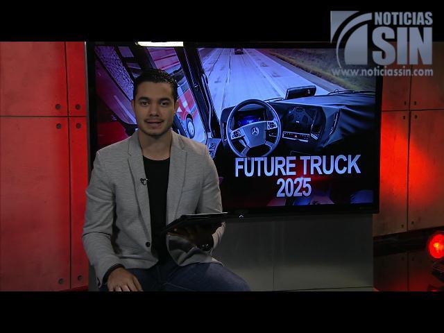 ¿Se imagina un camión que no necesite conductor?