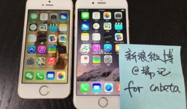 Se filtran nuevas imágenes del iphone 6