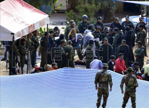Mueren cuatro reos en un nuevo enfrentamiento dentro de una cárcel boliviana