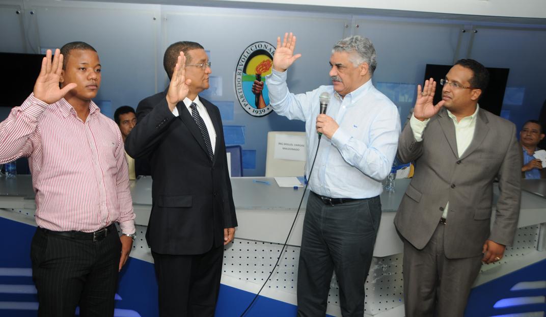 Vargas asegura orden, renovación y apertura impulsan PRD