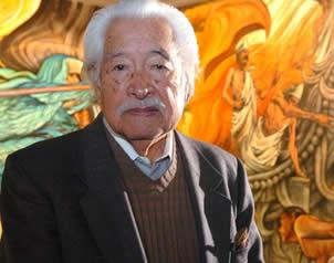 El pintor mexicano Luis Nishizawa fallece a los 96 años de edad