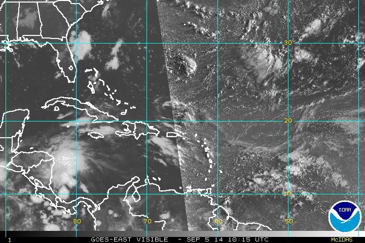 Onda tropical provocará lluvias en República Dominicana