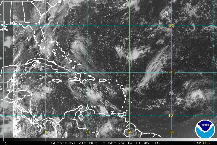 Aguaceros se esperan para la tarde de este miércoles; Se acerca onda tropical