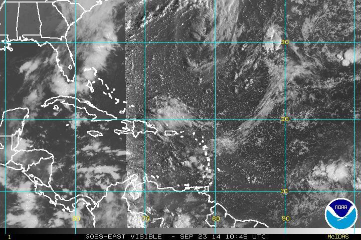 Onda tropical provocará aguaceros y tronadas en horas de la tarde