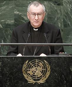 Cardenal Parolin pide a la ONU detener urgentemente yihadistas a la fuerza